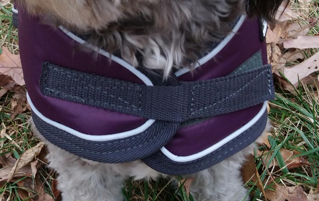 Tundra Winter Dog Coat Front Strap