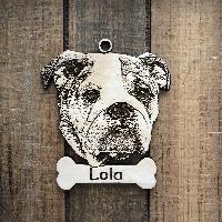 Dog Christmas Ornaments-