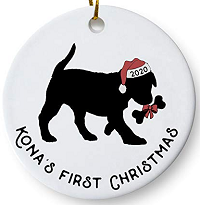 Personalized Dog Ornaments for 2020