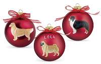 Sagefinds Personalized Breed Ornaments