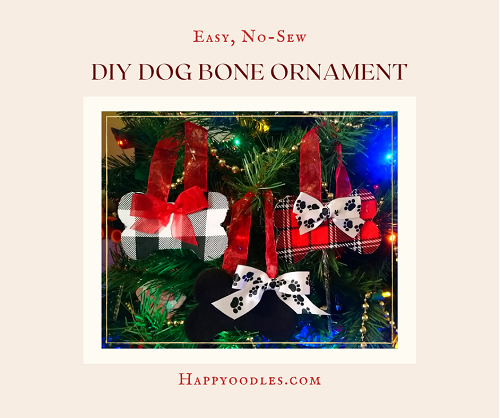 DIY Dog Christmas Ornament