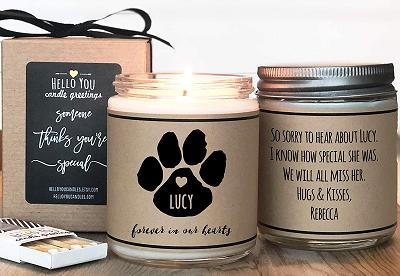 Pet Memorial Ideas - Candles